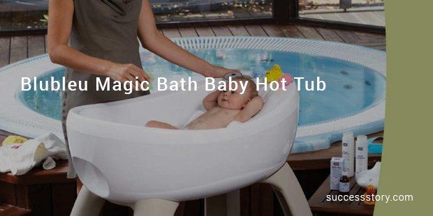 blubleu magic bath baby hot tub