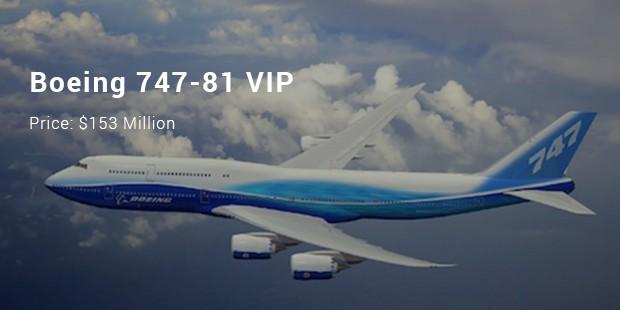 boeing 747 81 vip