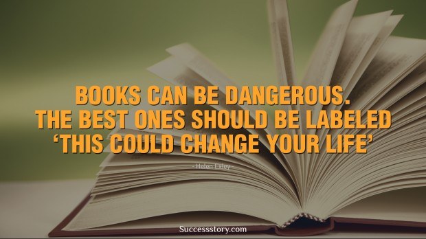 books can be dangerous