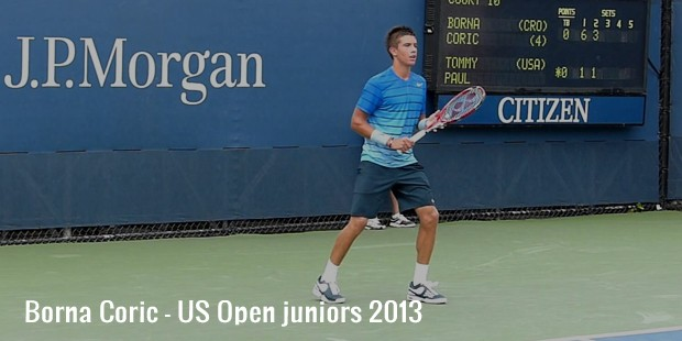 borna coric   us open juniors 2013