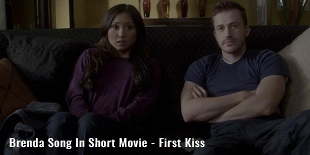 brenda song in short movie   first kiss