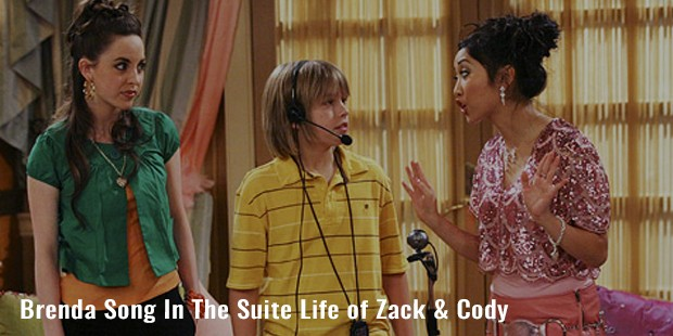 brenda song in the suite life of zack   cody