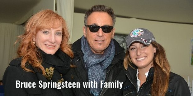 bruce springsteen with family