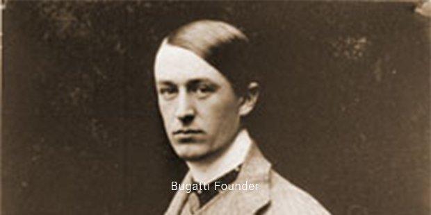 bugatti founder