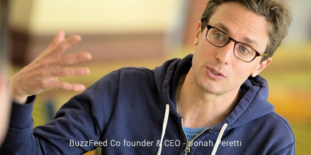 buzzfeed co founder & ceo   jonah peretti