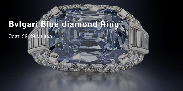 bvlgari blue diamond ring