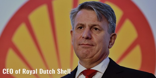 ceo of royal dutch shell