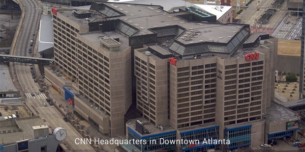 cnn headquarters in downtown atlanta