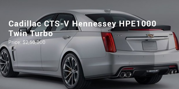 cadillac cts v hennessey hpe1000