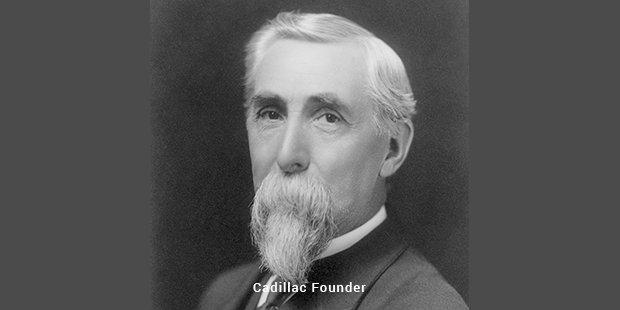 cadillac founder