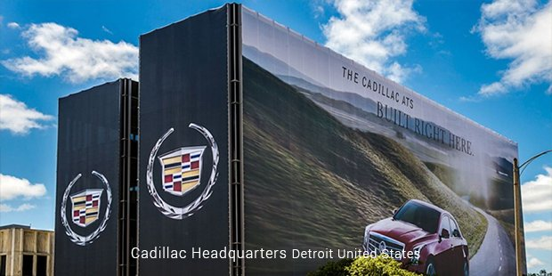 cadillac headquarters