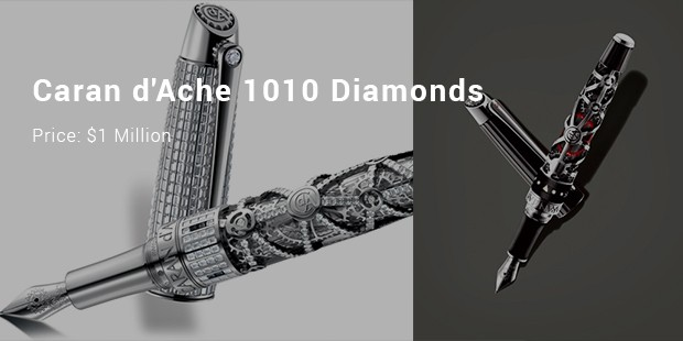 caran d ache 1010 diamonds