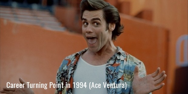 Career Turning Point in 1994 (Ace Ventura)