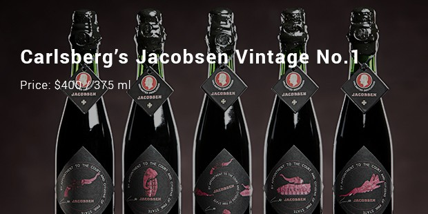 carlsberg's jacobsen vintage no