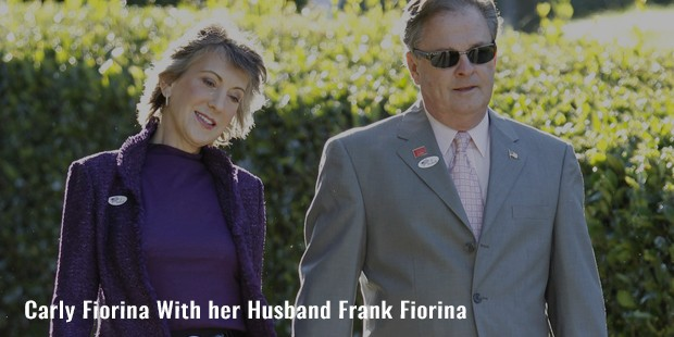 carly fiorina with her husband frank fiorina