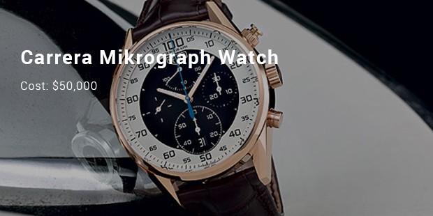 Tag Heuer Carrera Mikrograph Watch