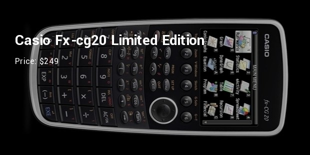 casio fx cg20 limited edition