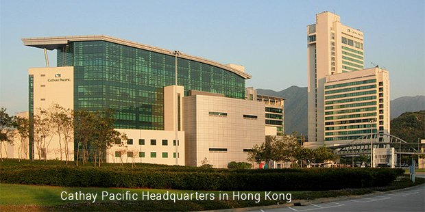 cathay pacific headquarters in hong kong