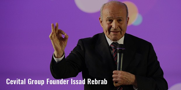 cevital group founder issad rebrab
