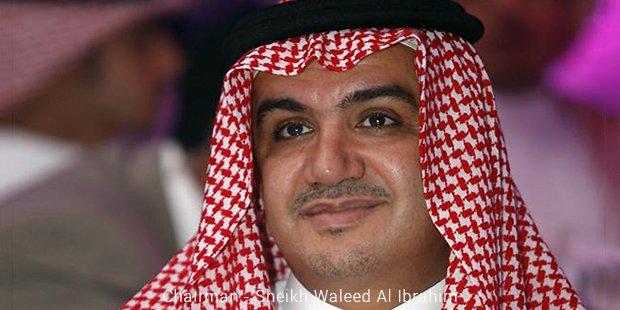 chairman   sheikh waleed al ibrahim