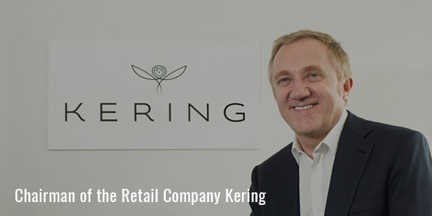 Chairman of the Retail Company Kering
