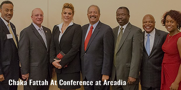 chaka fattah at conference at arcadia