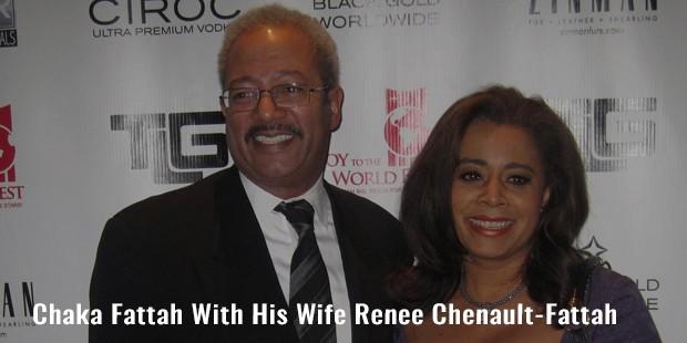 chaka fattah with his wife renee chenault fattah
