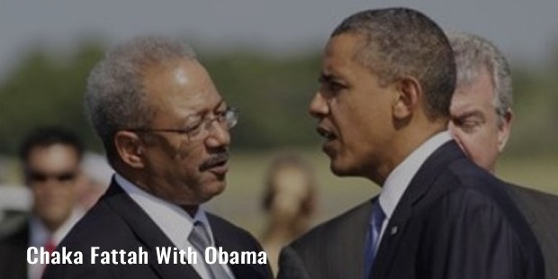 chaka fattah with obama