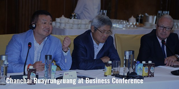 chanchai ruayrungruang at business conference
