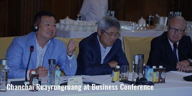 chanchai ruayrungruang at business conference