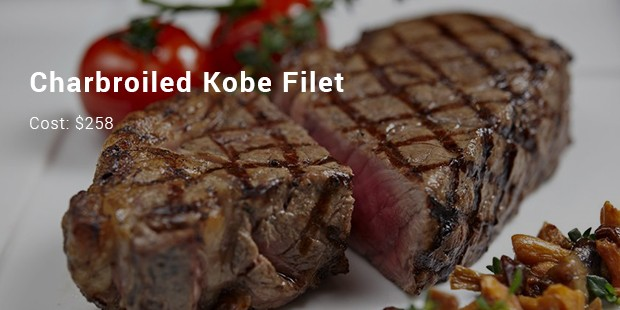 charbroiled kobe filet
