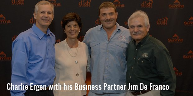 charlie ergen with his business partner jim de franco