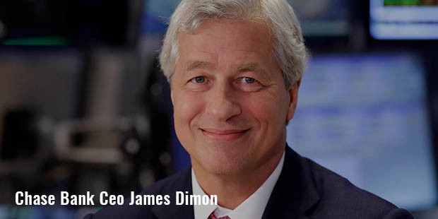chase bank ceo james dimon