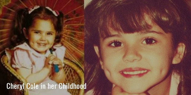 cheryl cole in her childhood