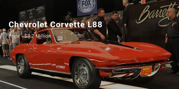 A 1967 Chevrolet Corvette L88