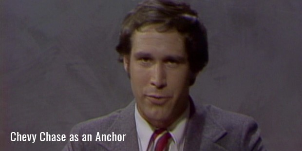chevy chase as an anchor