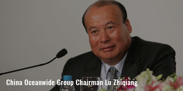 china oceanwide group chairman lu zhiqiang