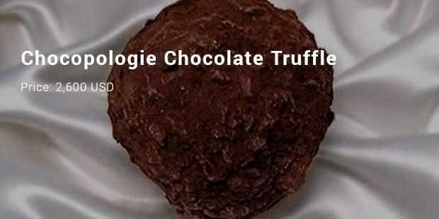 chocopologie chocolate truffle