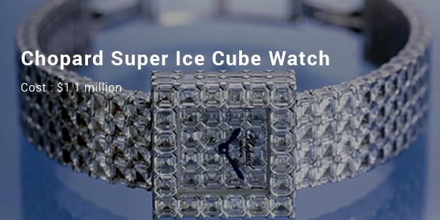 chopard super ice cube watch