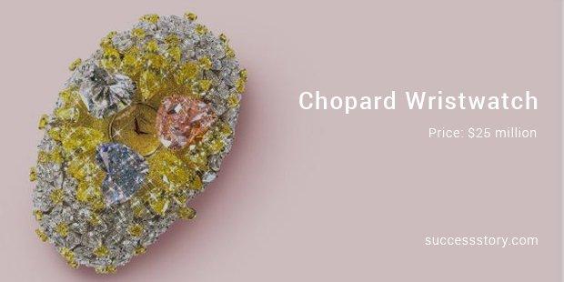 chopard wristwatch