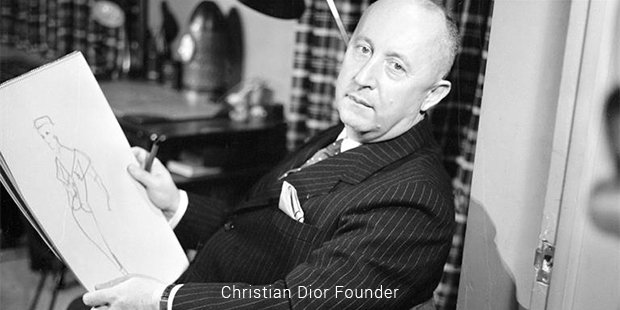 christian dior founder