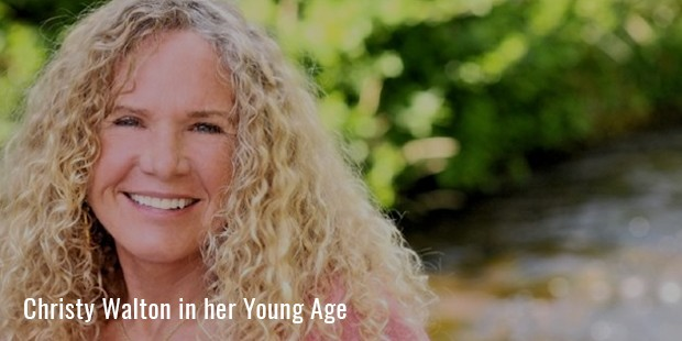 christy walton in her young age