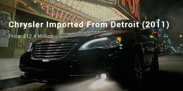 chrysler imported from detroit  2011
