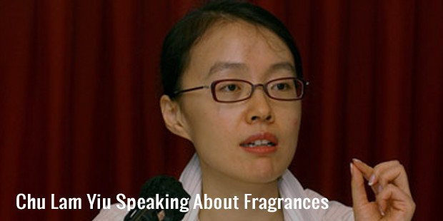 chu lam yiu speaking about fragrances