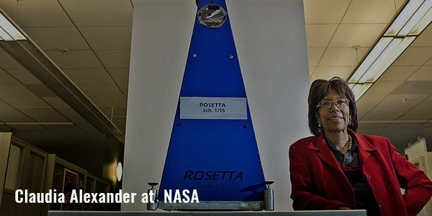 claudia alexander at  nasa