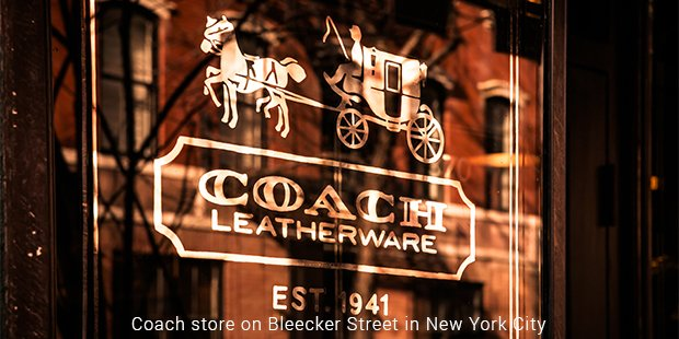 coach store on bleecker street in new york city