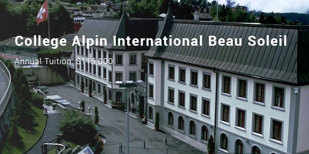 college alpin international beau soleil