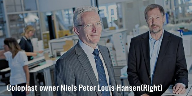 coloplast owner niels peter louis hansen right