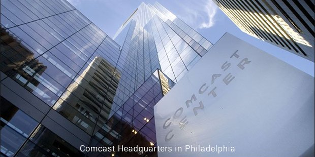 comcast headquarters in philadelphia