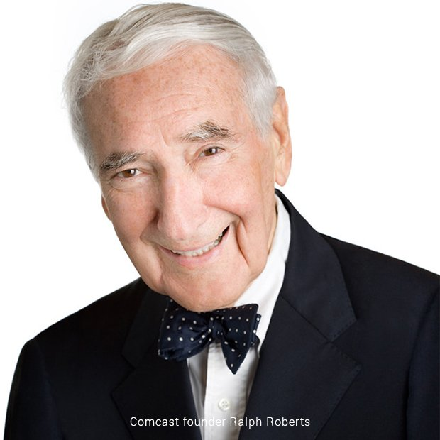 comcast founder ralph roberts